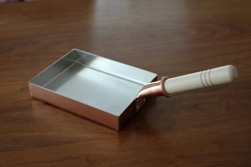 銅製卵焼き器(中村銅器製作所)|外観