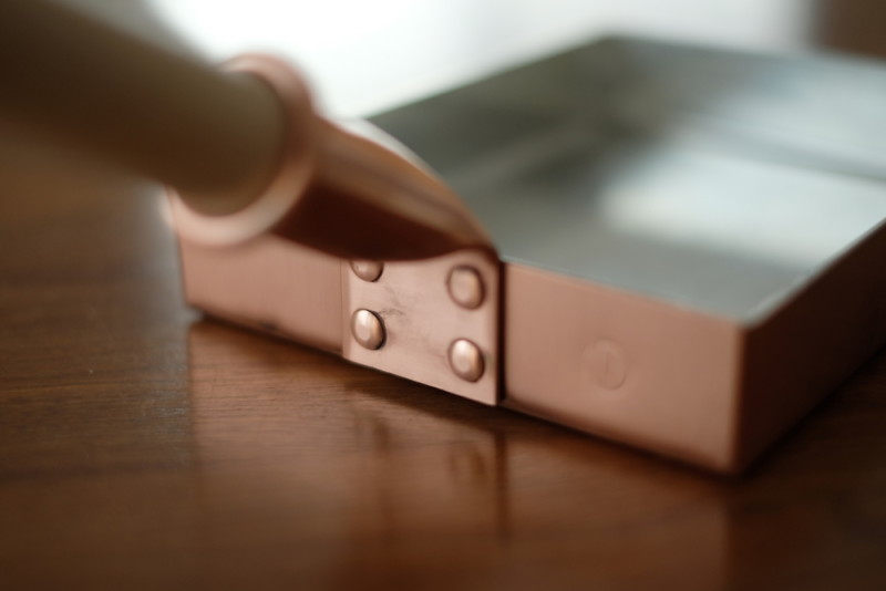 銅製卵焼き器(中村銅器製作所)|本体の接合部分