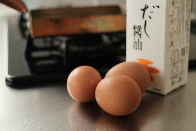 銅製卵焼き器(中村銅器製作所)|卵焼き材料