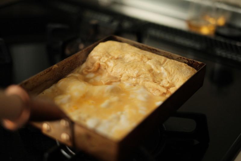 銅製卵焼き器(中村銅器製作所)|卵焼きを焼く