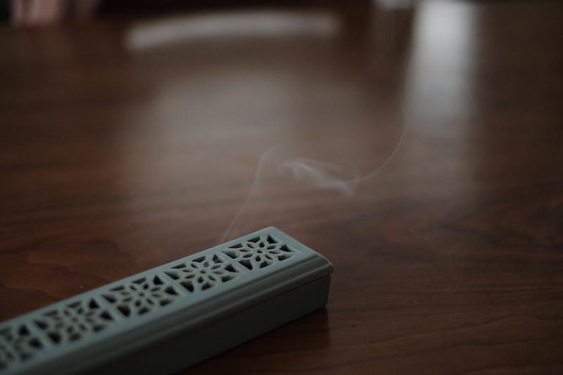 比叡山延暦寺「名香 叡山香」|叡山香の煙