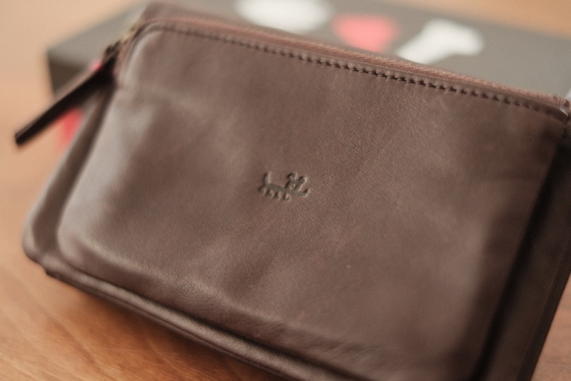 ソフトレザー二つ折り財布(CAMPER)|マーク