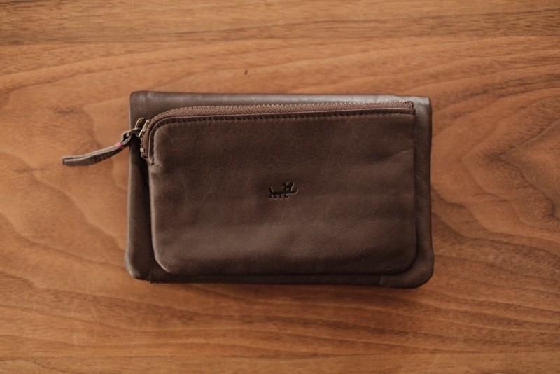 ソフトレザー二つ折り財布(CAMPER)|コインケース側