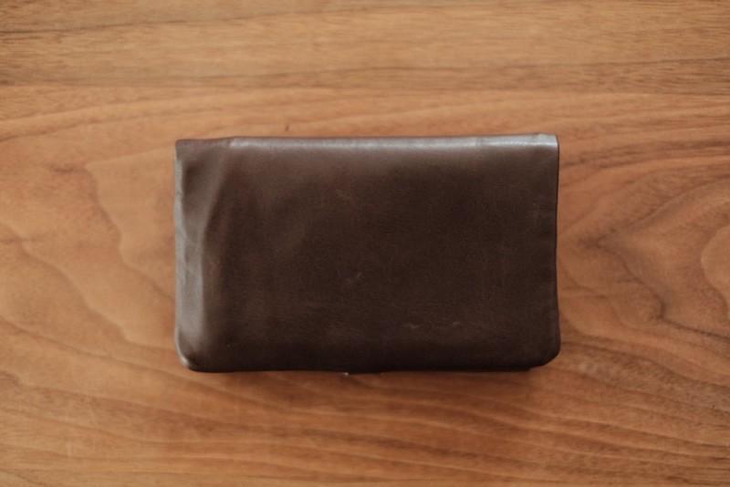 ソフトレザー二つ折り財布(CAMPER)|表面