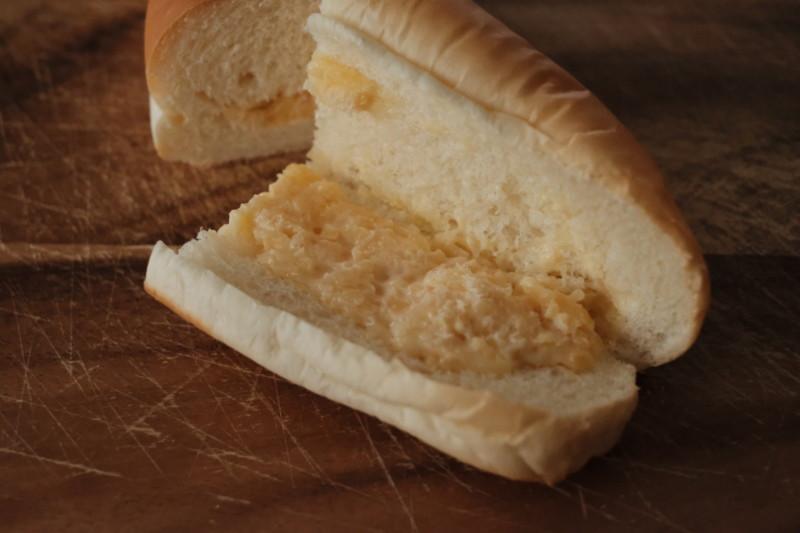 サラダパン(つるやパン)|中身