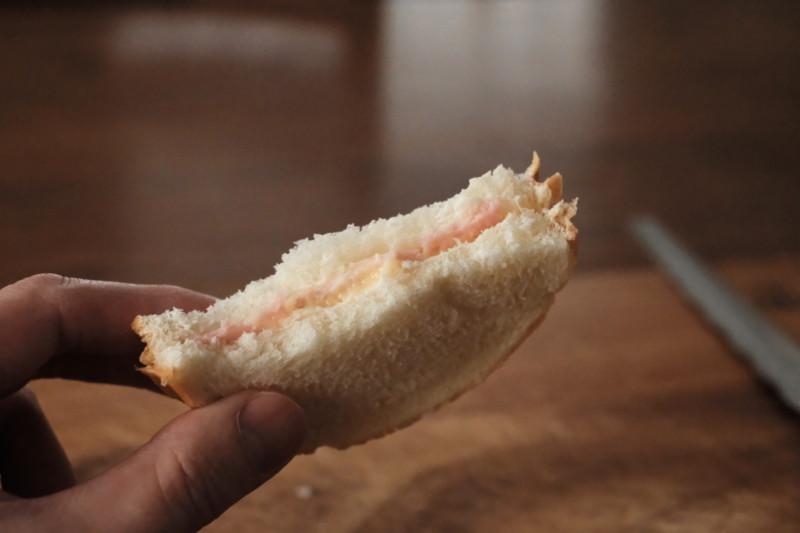 サンドウィッチ(つるやパン)