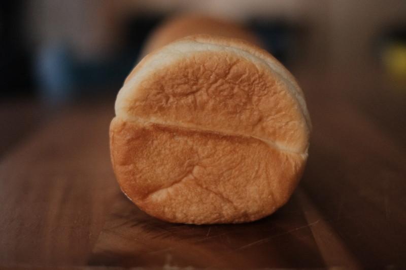 まるい食パン(つるやパン)|側面