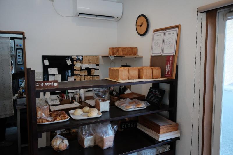 食パンの店「フリブール」(奈良)|店内
