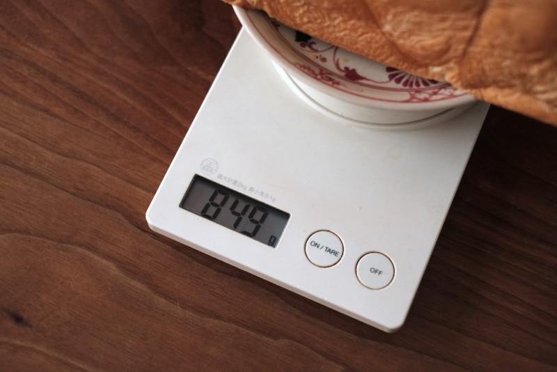 食パンの店「フリブール」(奈良)|ジャンボ食パンの重さ