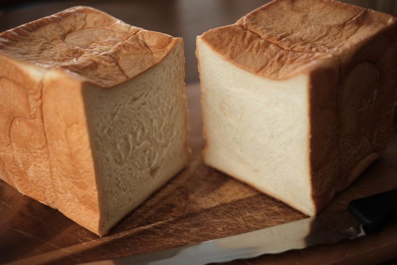食パンの店「フリブール」(奈良)|ジャンボ食パンの断面