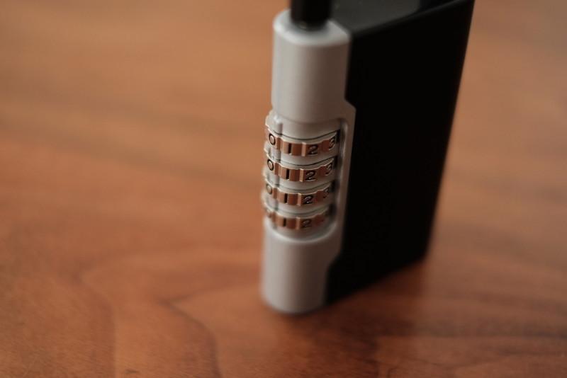 南京錠型キーボックス(暗証番号式)「ロックポケット LP-600(吉野金属)」|ダイヤル部分