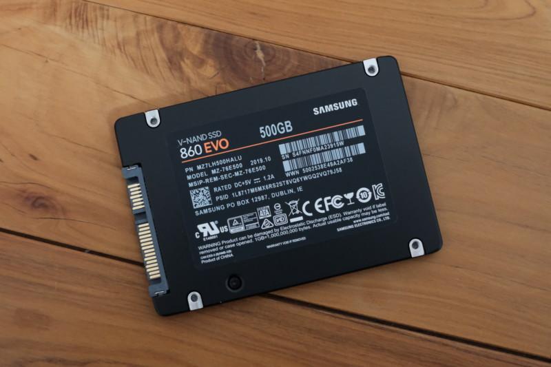 860EVO 500GB(Samsung)|本体