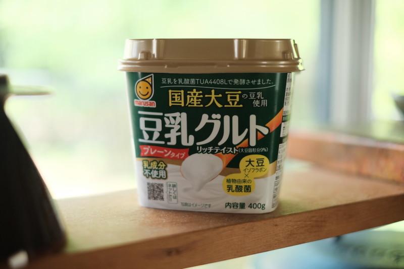豆乳グルト プレーンタイプ(マルサンアイ) パッケージ