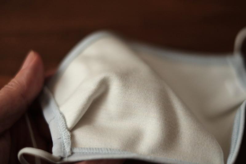 スポーツフェイスマスク(ヨネックス)|肌に触れる側の生地