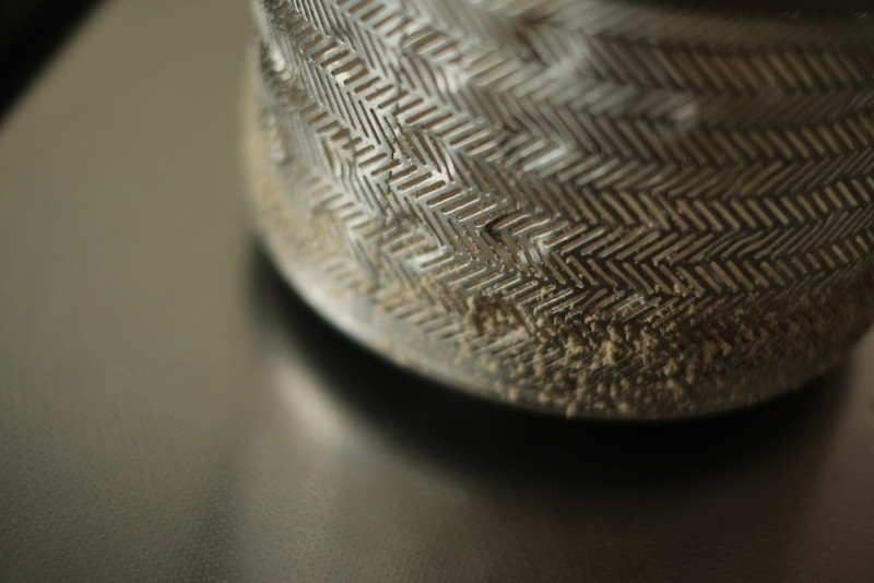米屋の旨み RCI-B5-W(アイリスオーヤマ)|精米カゴに付いたぬか