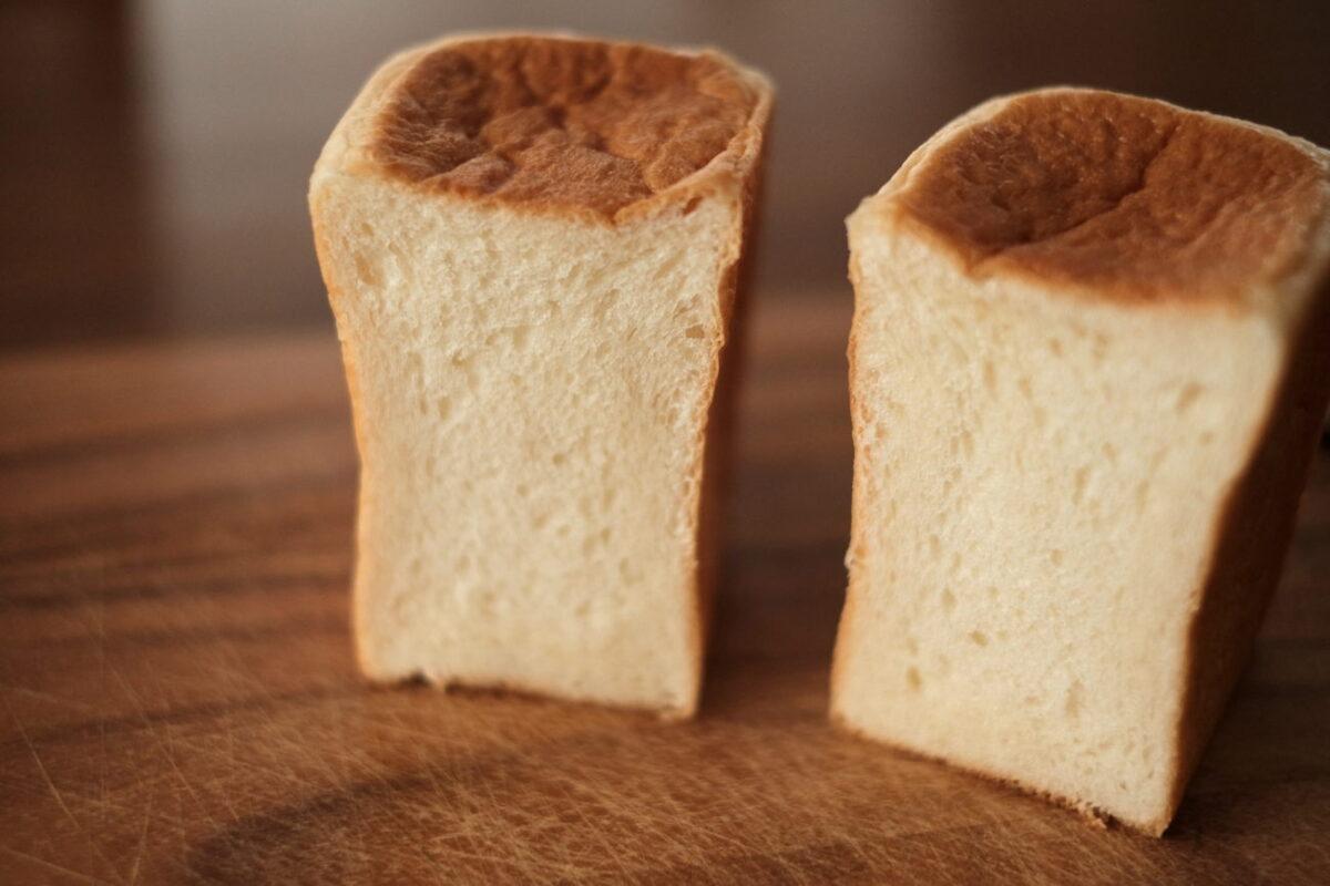 濃い生食パン(バロー)|断面