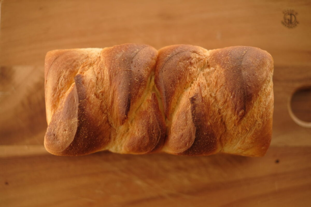 北欧バター食パン(北欧倶楽部)|上から