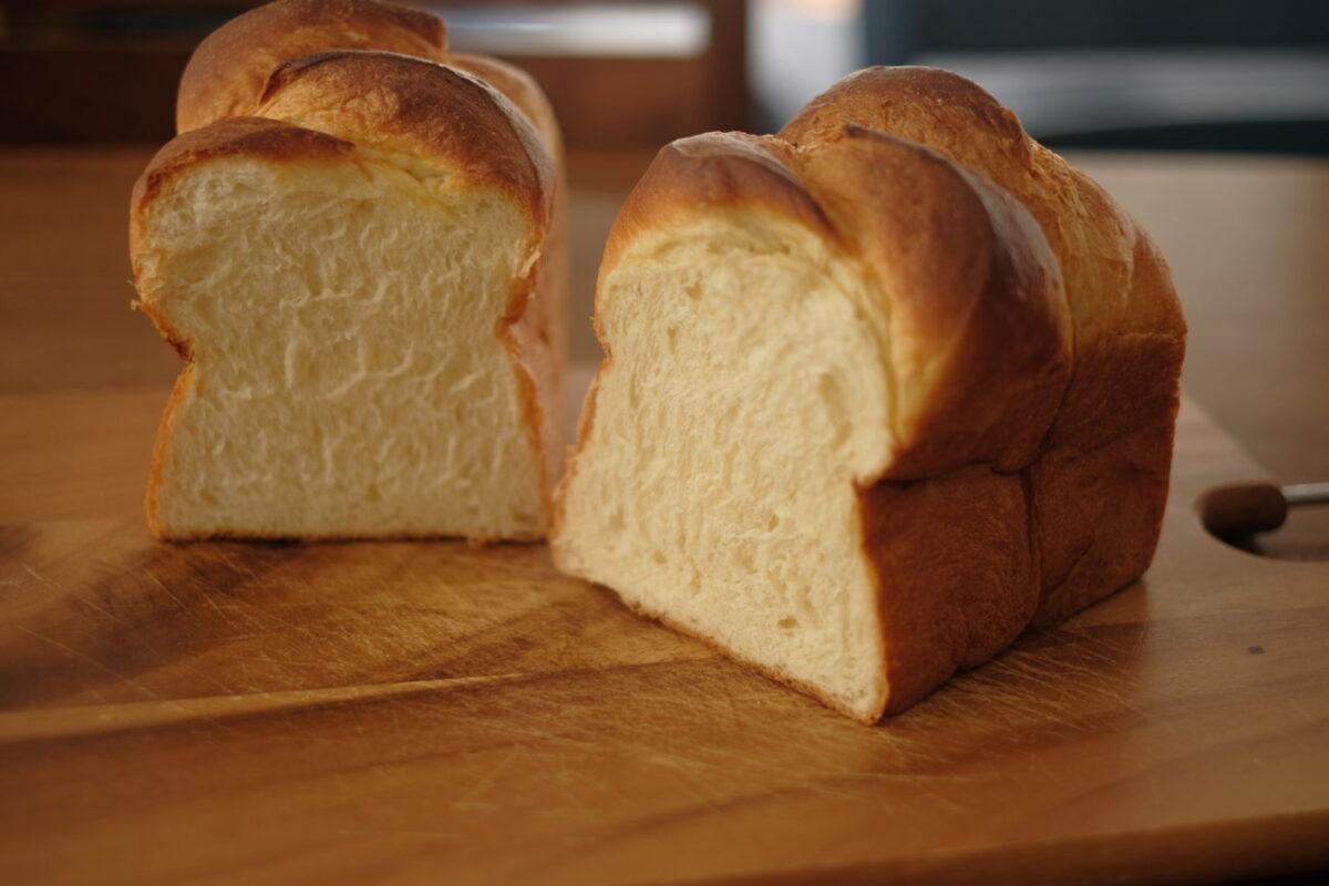 北欧バター食パン(北欧倶楽部)|断面