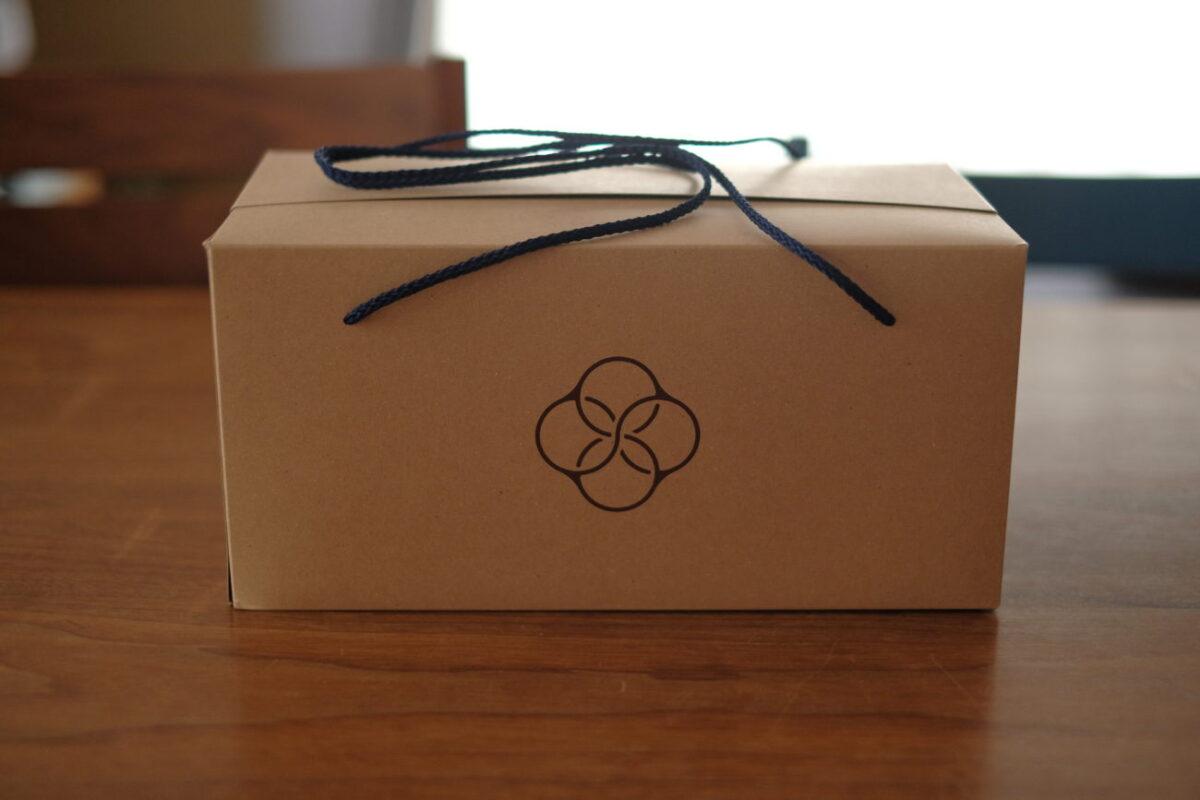 甘麹熟成食パン(AMACO CAFE) 箱