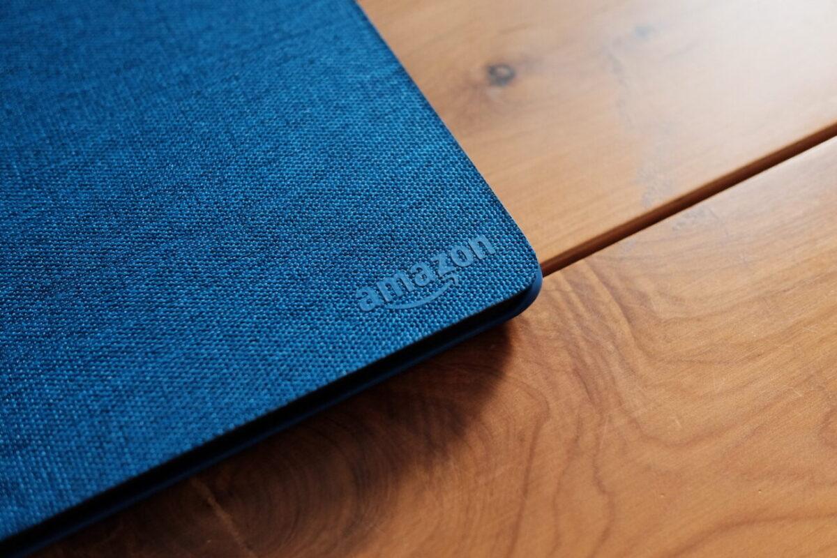 Kindle Paperwhite|純正カバーのロゴマーク