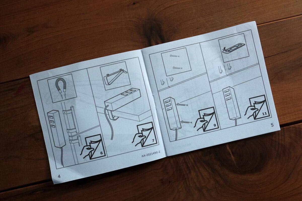 IKEA LORBY(ロルビ)|説明書