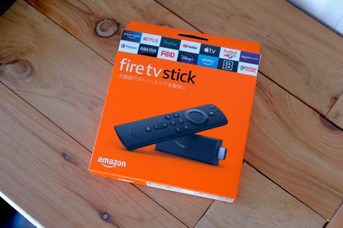 Amazon Fire TV Stick パッケージ