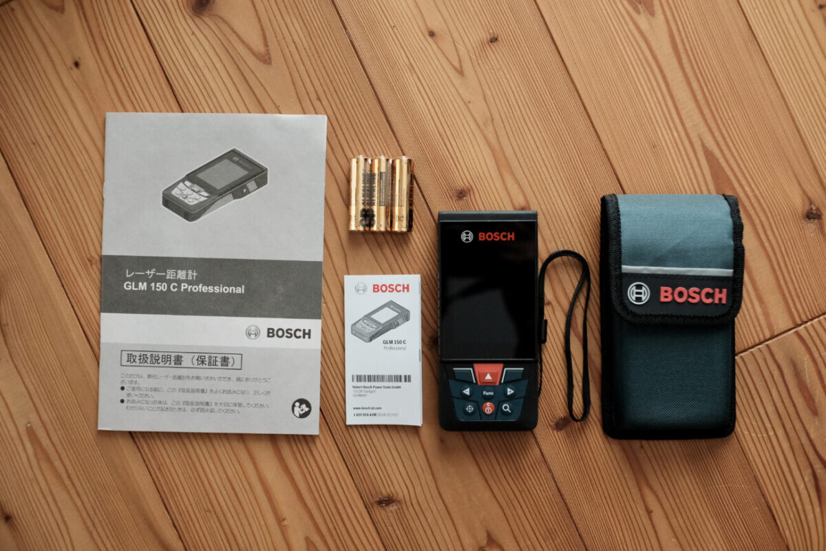 GLM150C Professional(ボッシュ)|内容物