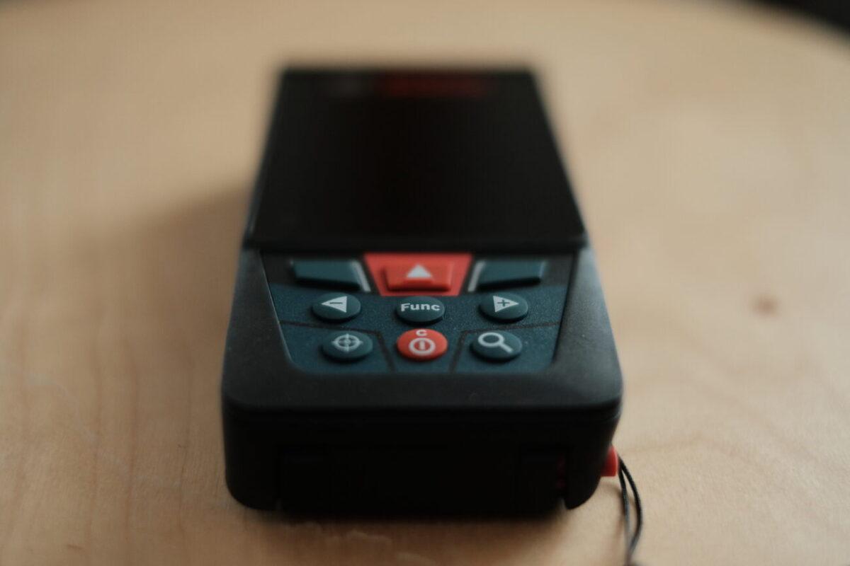 GLM150C Professional(ボッシュ)|操作ボタン類