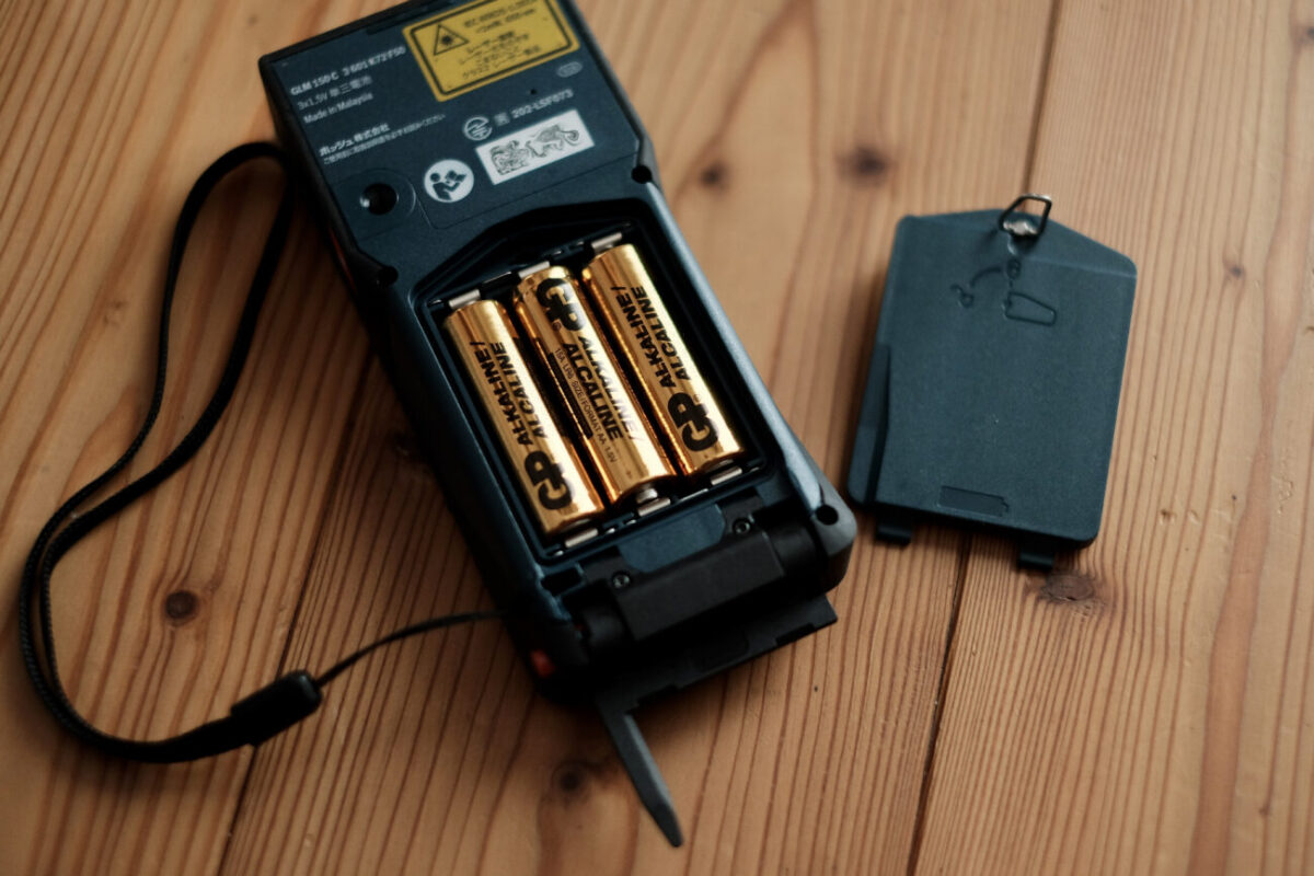 GLM150C Professional(ボッシュ)|電池