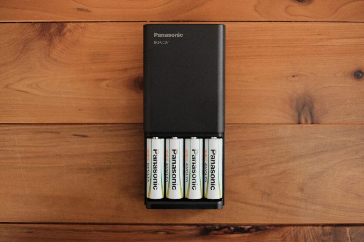 BQ-CC87(Panasonic)|単3形電池を充電