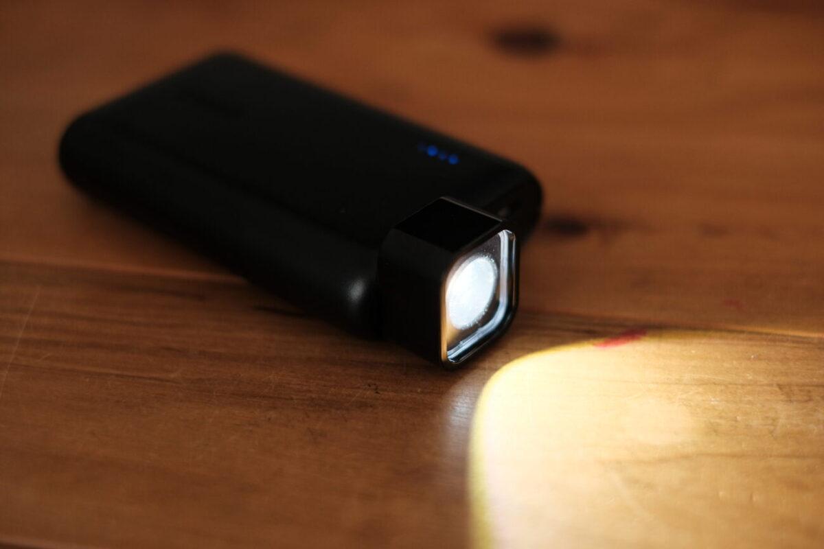 BQ-CC87(Panasonic)|他のモバイルバッテリーにつけても点灯