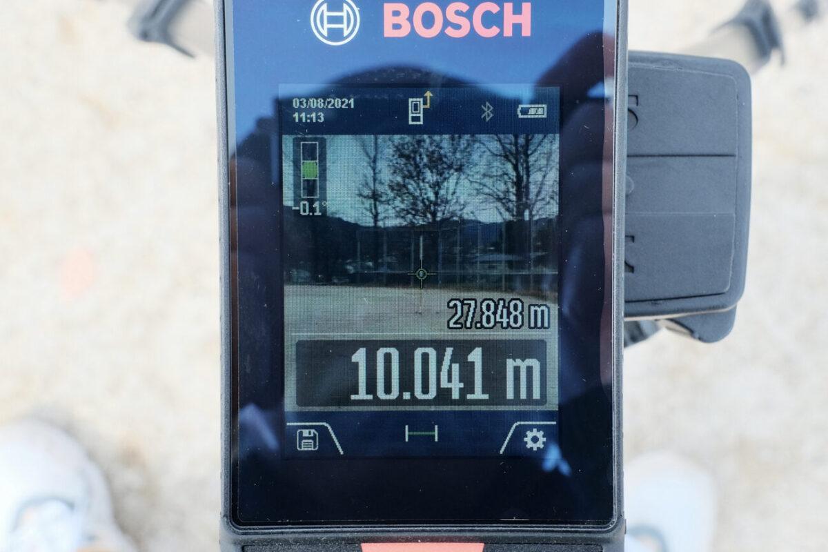 GLM150C Professional(ボッシュ)|10mで計測&ズーム無し