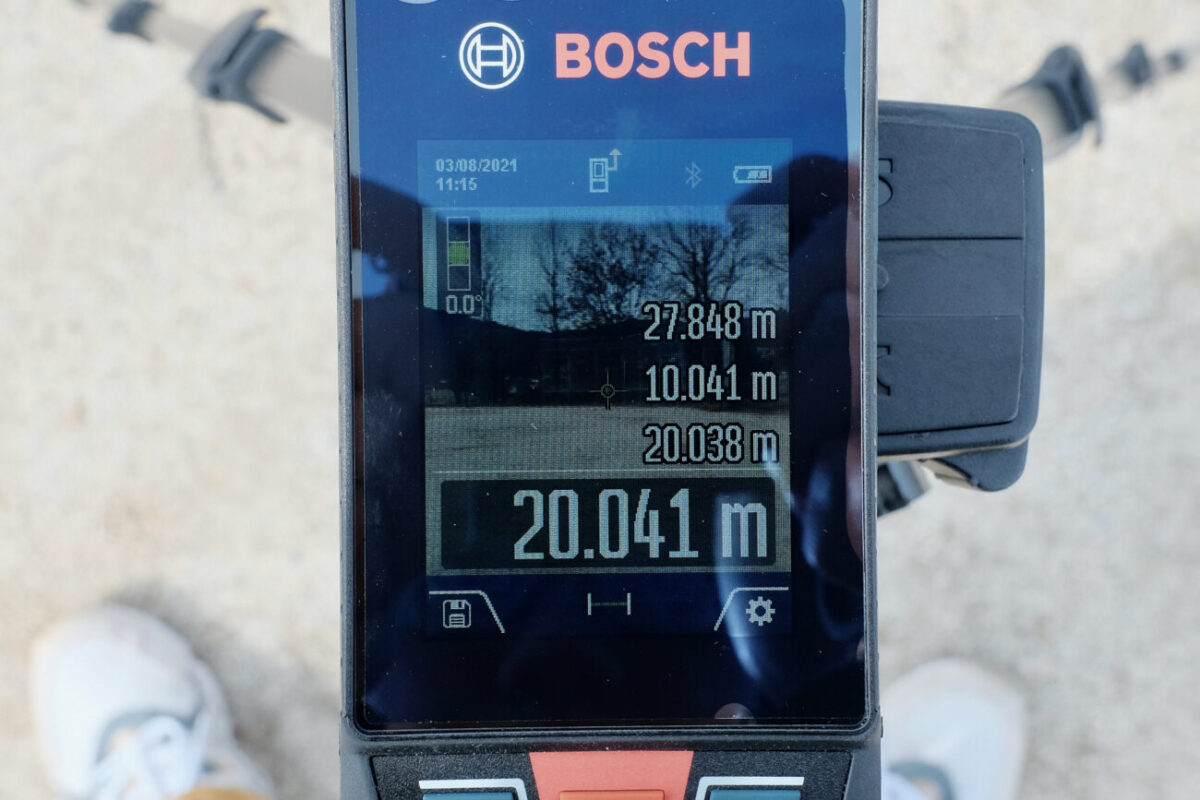 GLM150C Professional(ボッシュ)|20mで計測&ズーム1段階