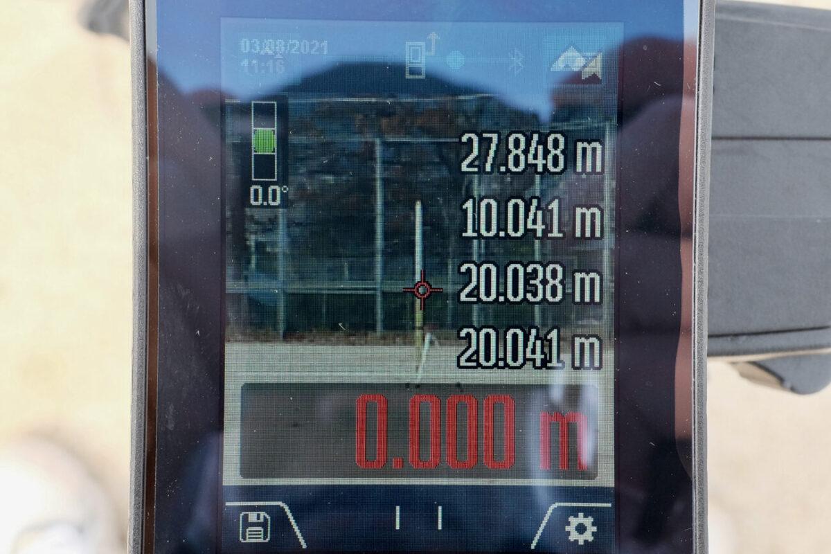 GLM150C Professional(ボッシュ)|20mで計測&ズーム2段階