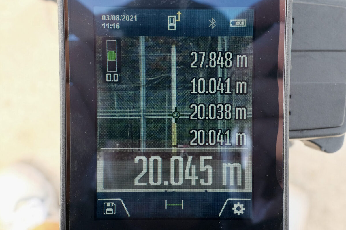 GLM150C Professional(ボッシュ)|20mで計測&ズーム3段階