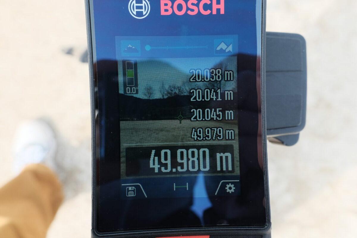 GLM150C Professional(ボッシュ)|50mで計測&ズーム1段階