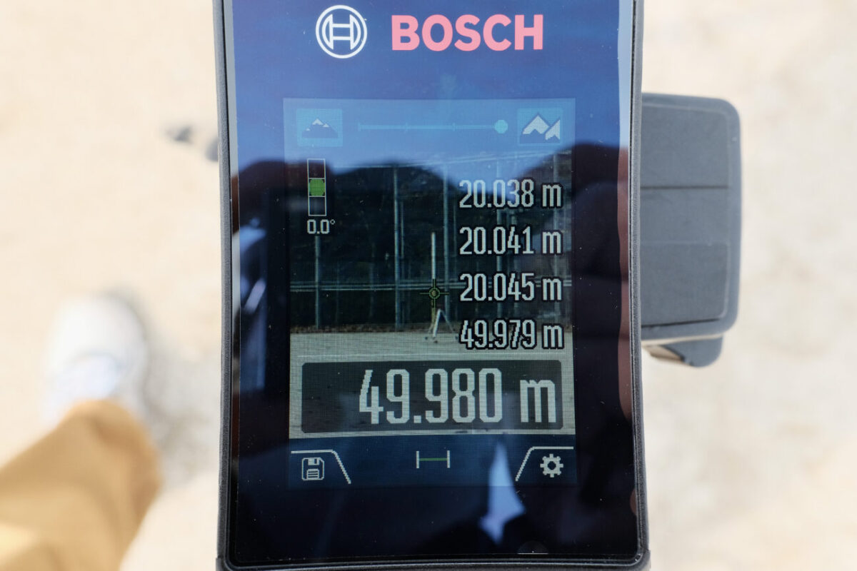 GLM150C Professional(ボッシュ)|50mで計測&ズーム3段階