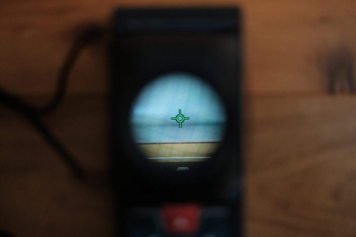液晶モニタールーペ 3×(ハクバ)|GLM150Cのディスプレイを確認