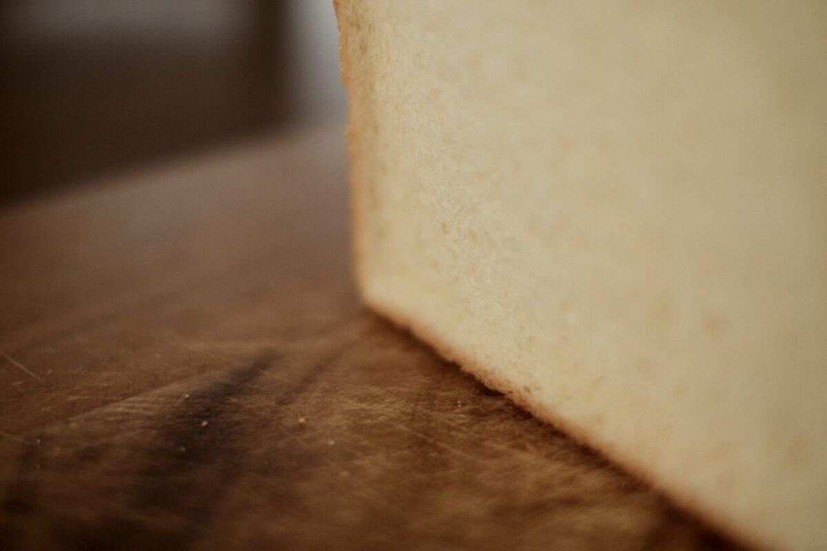 モスバーガーの食パン|肌理