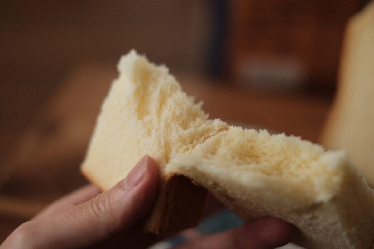 モスバーガーの食パン|生食のまま