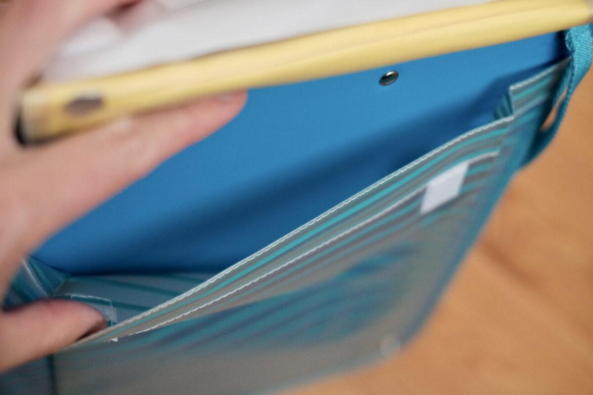 レイメイたんけんボード|マチ付きA4対応特大ポケット