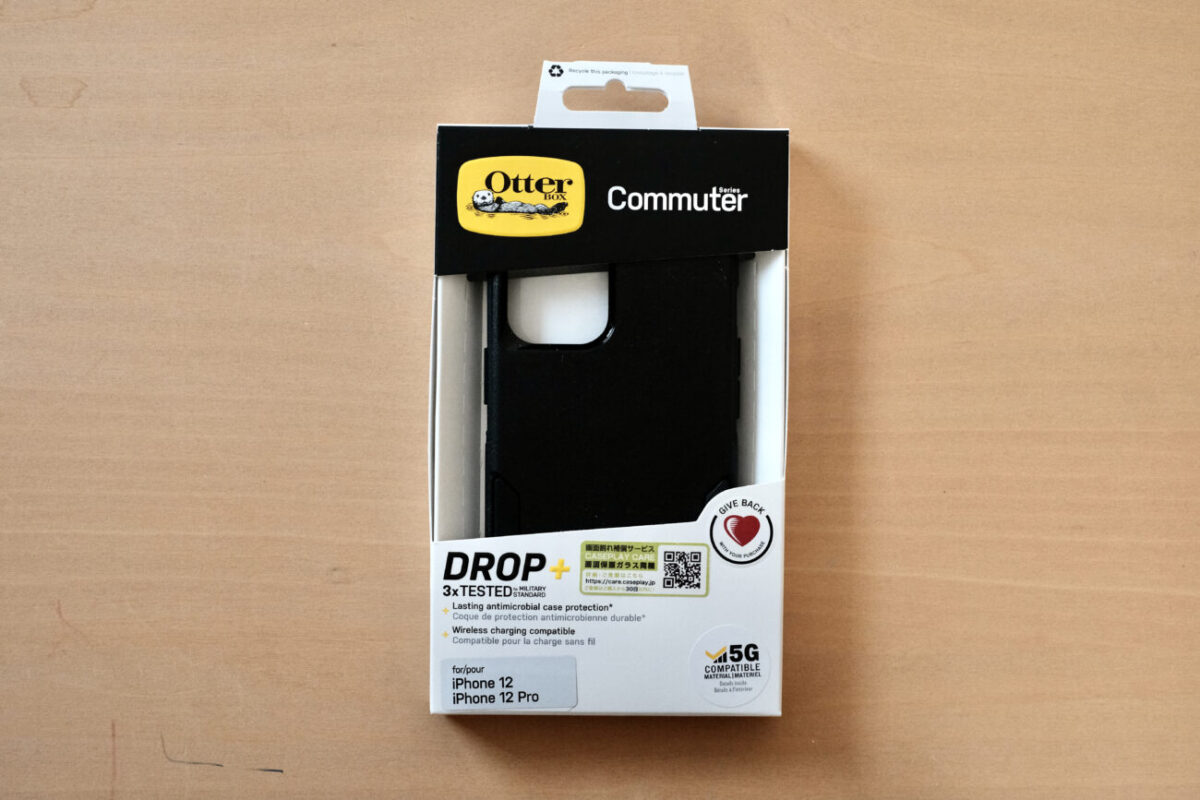 iPhone12用ケース「Commuter(OtterBox)」|