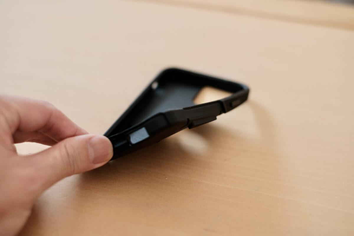 iPhone12用ケース「Commuter(OtterBox)」 インナースリップカバー