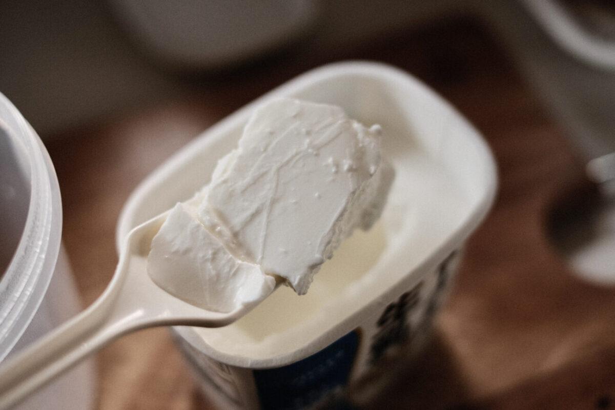 白バラヨーグルト生乳100(大山乳業) 