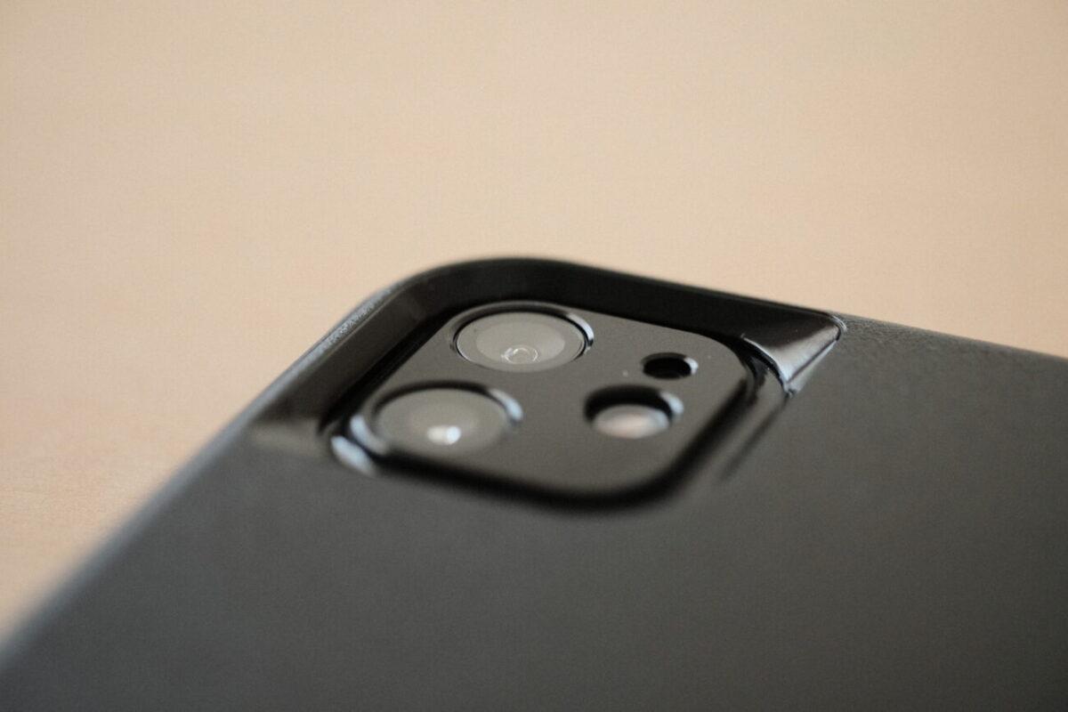 iPhone12用カメラ部分保護カバー(NIMASO)