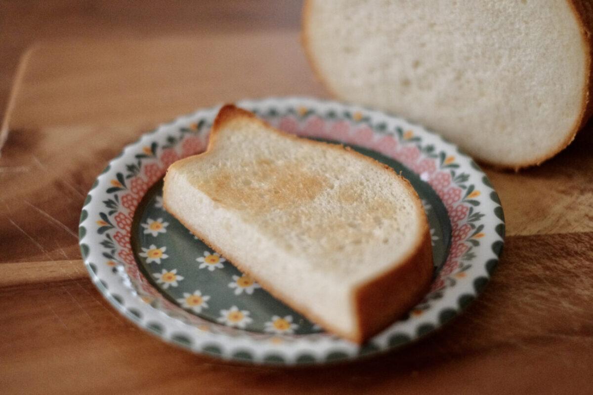ねこねこ食パン(アンティーク)|トースト