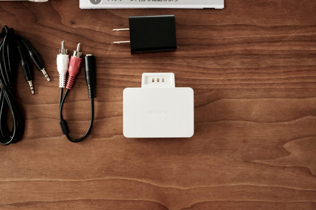 2.4GHzワイヤレス手元スピーカー(エレコム) 送信機