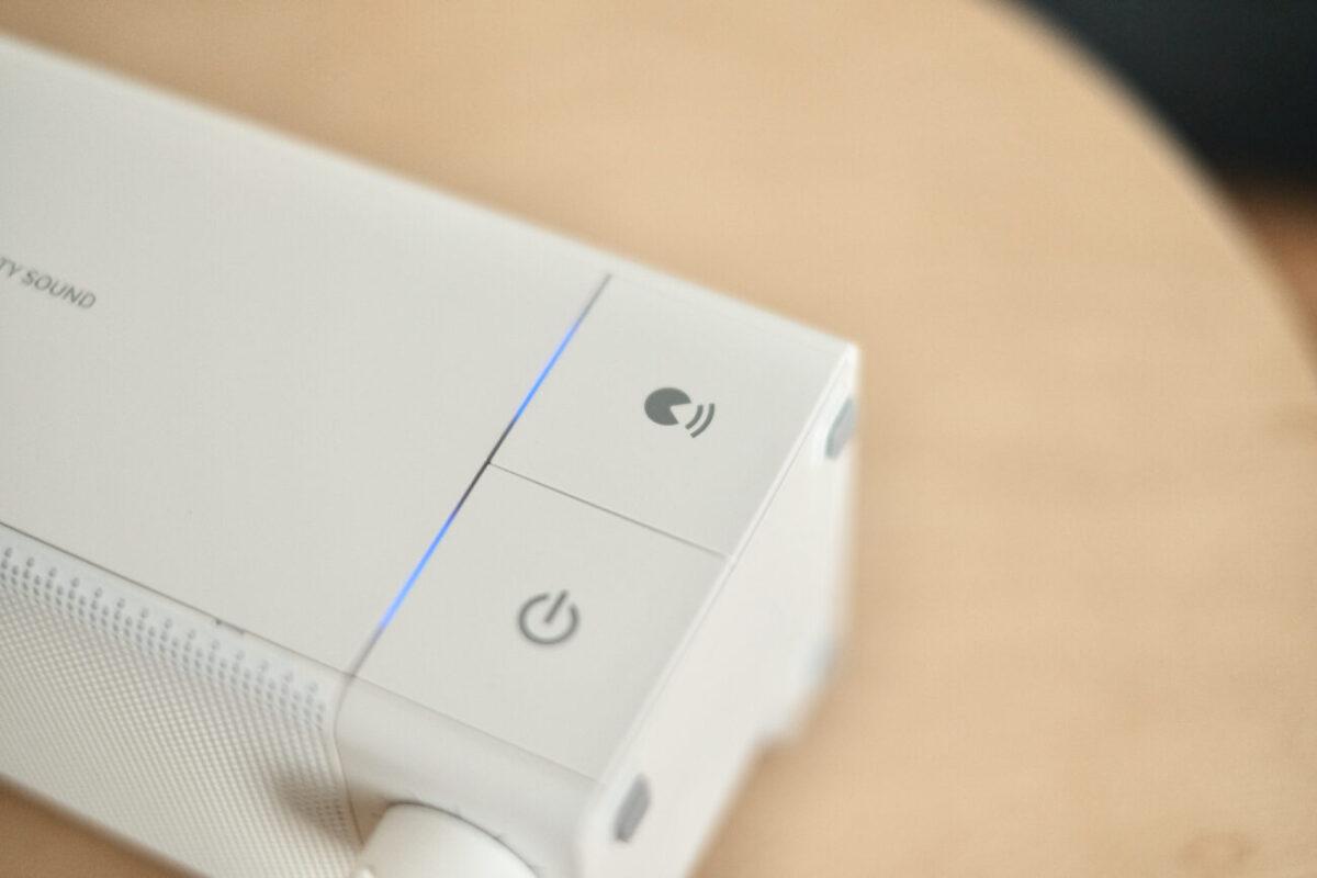 2.4GHzワイヤレス手元スピーカー 声聴くモード