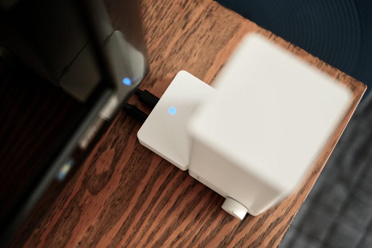 2.4GHzワイヤレス手元スピーカー 充電ドック
