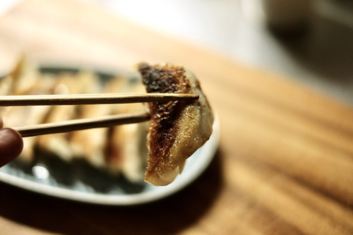 [奈良]生餃子製造直売所GYOZAの冷凍餃子「MYP餃子」|完成